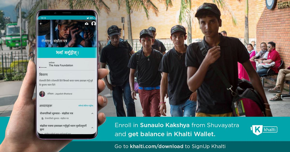 Shuvayatra unveils interactive apps for Nepali migrant workers