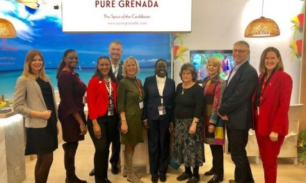 PURE GRENADA STANDS OUT WITH DESIGNER STAND AT ITB 2019