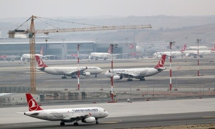 TURKISH AIRLINES FLEET ARRIVES AT NEW ISTANBUL AIRPORT
