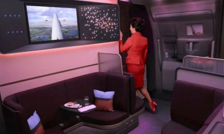 PEEK AT VIRGIN ATLANTIC'S NEW AIRBUS A350