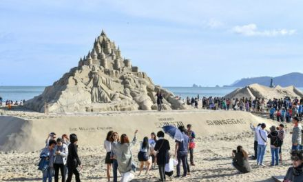 Enjoy Music & Sand at Haeundae Sand Festival in Korea