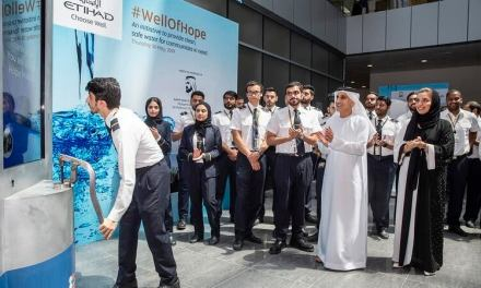 Etihad Aviation Group to fund construction of 30 new wells to help improve water access in Africa