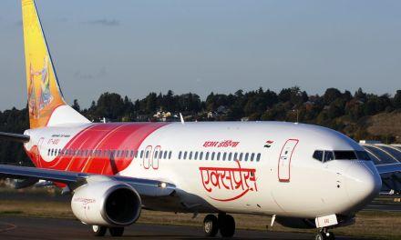 Reverser failure, wet runway caused Air India 737 excursion