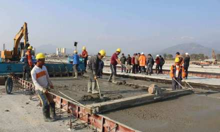 Pokhara International Airport achieves 43 percent of physical progress
