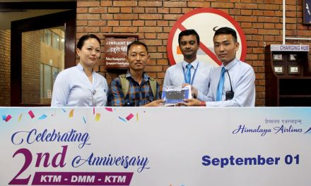 Himalaya Airlines celebrated 2nd Anniversary of Dammam Operations