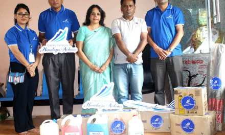 Himalaya Airlines joined hands with AOC-N to boost their CSR Activities