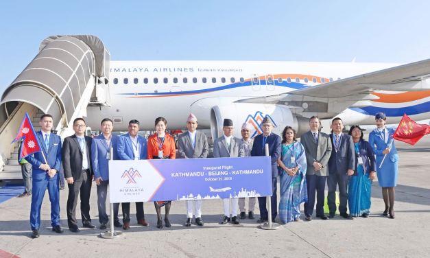 Himalaya launches Beijing flight