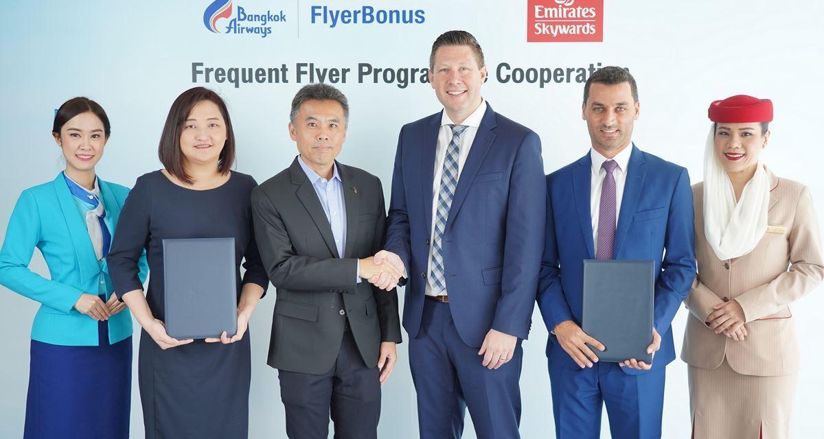 Bangkok Airways FlyerBonus and Emirates Skywards Partner to Expand Member Benefits