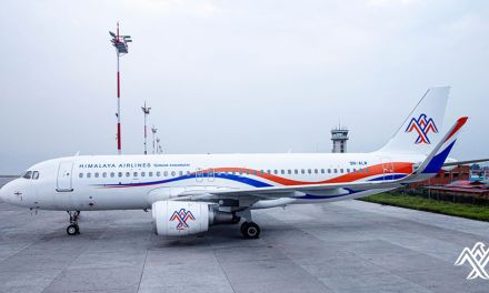 Himalaya Airlines departs to Chongqing to bring COVID -19 medical supplies