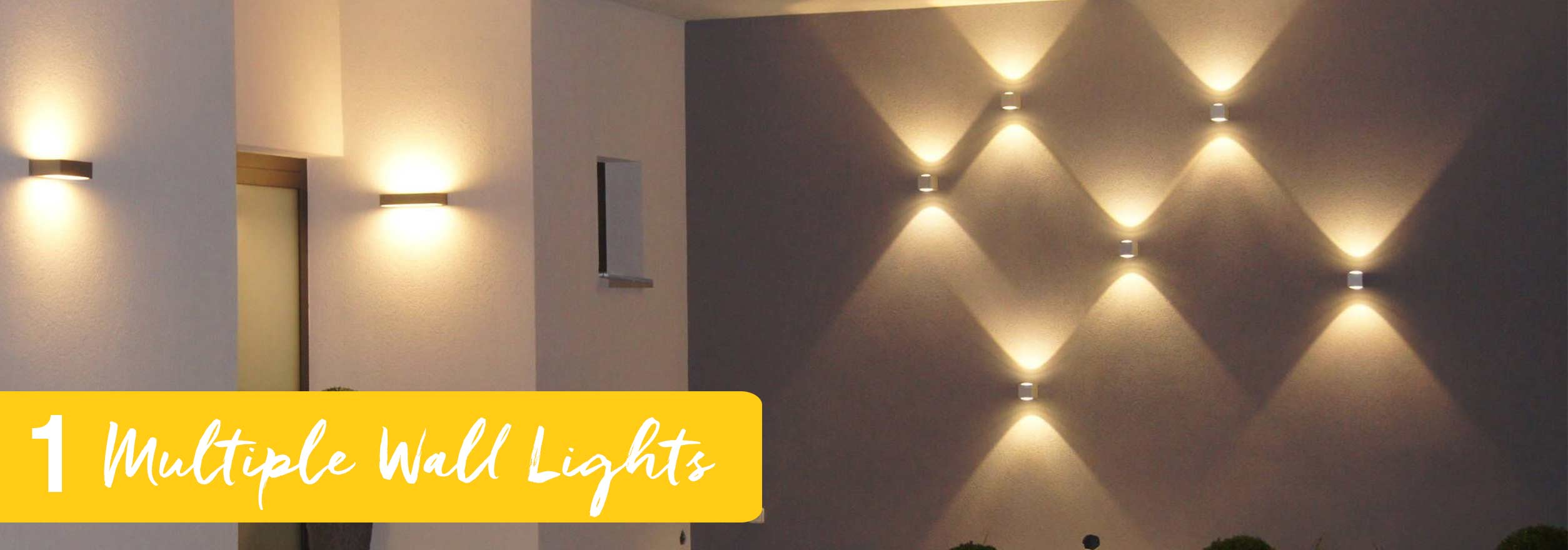 medium resolution of install multiple wall lights sometimes more is better and with multiple wall lights installed facing different directions you get ample lighting and an