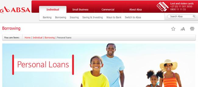 absa loans