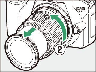 Attach a Lens
