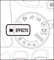 スペシャルエフェクトモードの設定方法