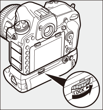 Paket Baterai MB-D18 Opsional