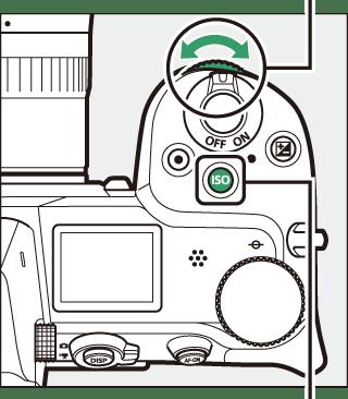 The ISO (ISO Sensitivity) Button