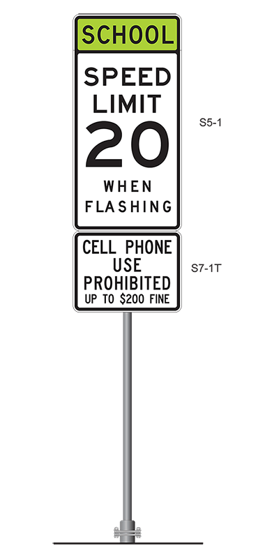 Sign Guidelines and Applications Manual: Cell Phone Use