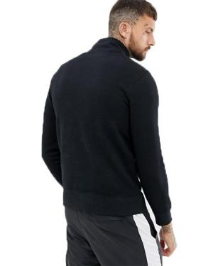 Мъжка блуза NIKE NSW CLUB TOP LS HZ