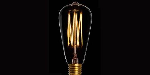 """Glühbirnen mit """"WOW-Effekt"""": Edison Glühbirne"""