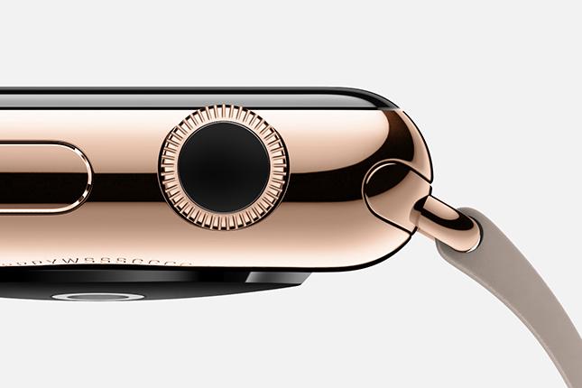 Apple Watch Digital Crown reinigen