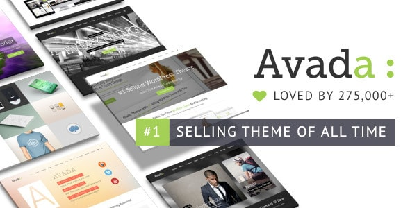 Avada WordPress Themes Themeforest