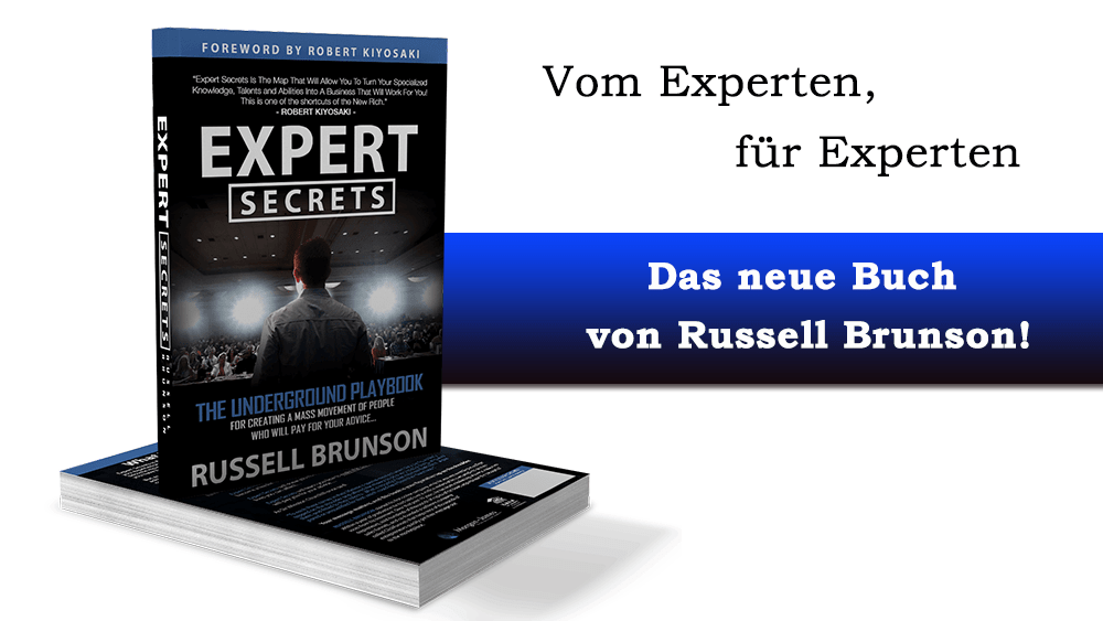 Expert Secrets – Das Online Marketing Buch von Russell Brunson