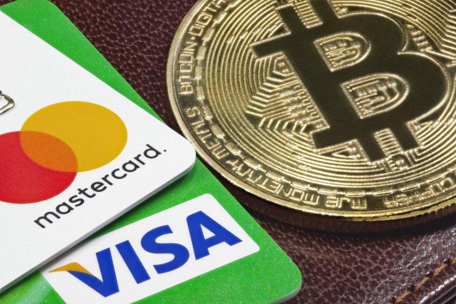 Mastercard, Visa, Bitcoin