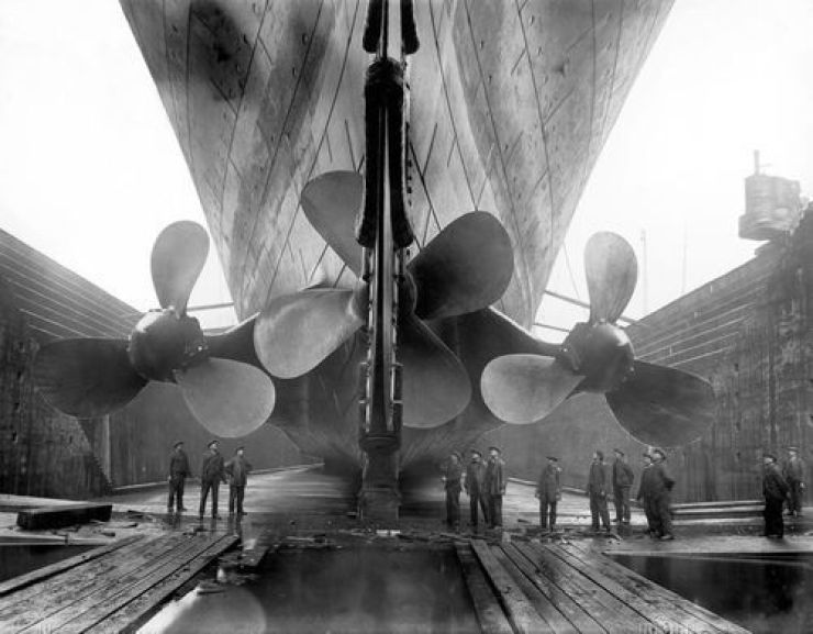 Rare Photos from the Inside of the Real Titanic