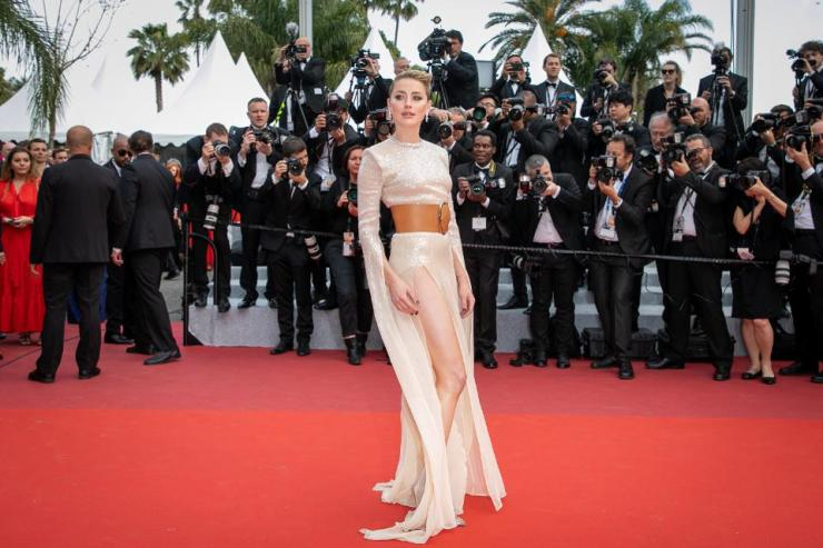 Canne Film Festival Amber Heard