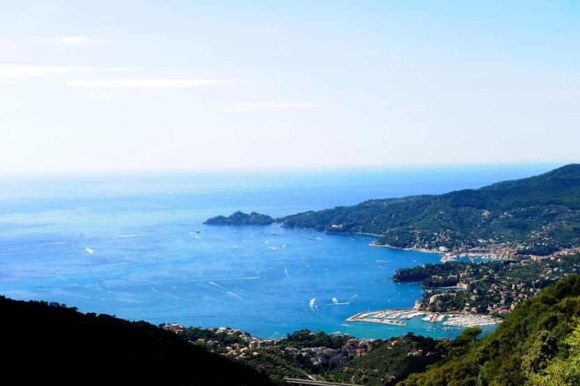 Montallegro. Gulf of Rapallo view .