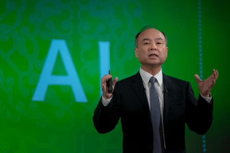 Softbank Group Chairman Masayoshi Son Press Conference