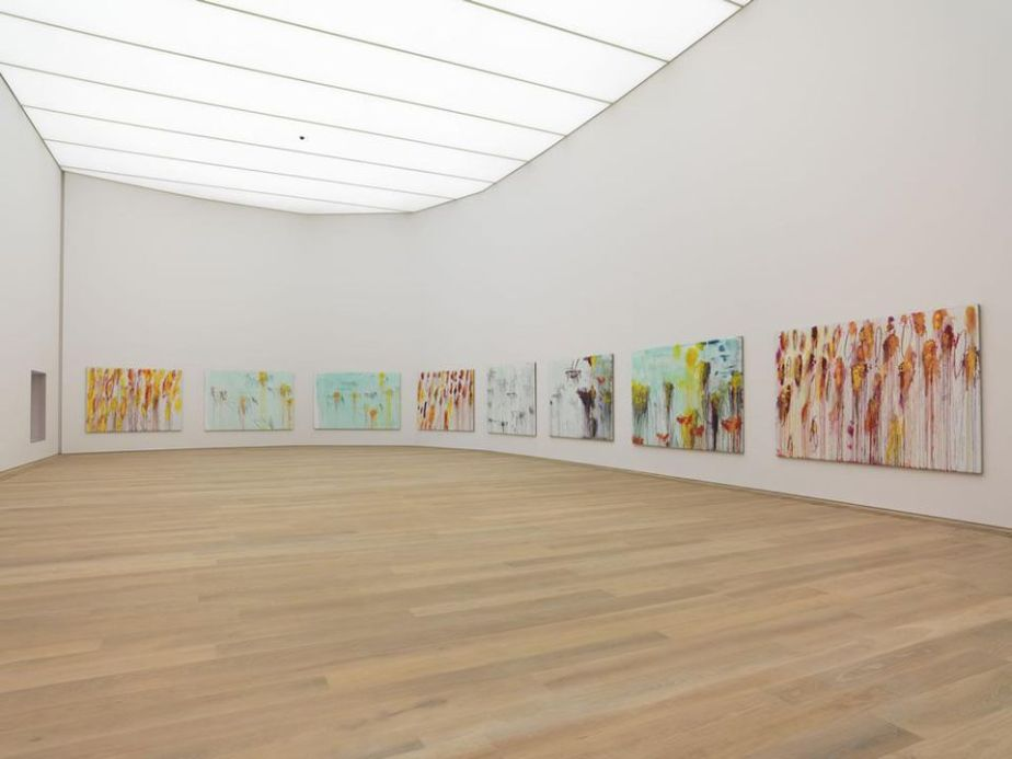Cy Twombly's at Museum Brandhorst in Munich, Germany