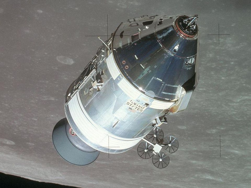 The Reaction Control System, visible towards the center-left of the image, consists of two types of thrusters that control both acceleration and orientation. With the original flaw, the thrusters fired in a pattern that put the Command Module at risk. Had those two modules collided, the astronauts on board would have had a failed re-entry, killing all three passengers.