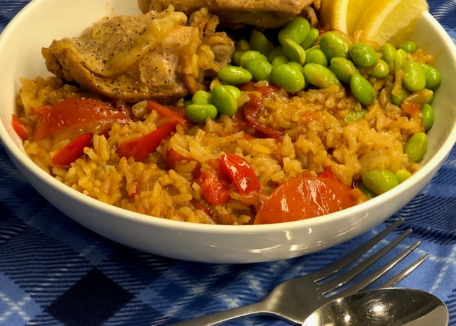 Instant Pot Spanish Chicken and Rice