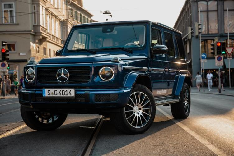 G-Class in the city