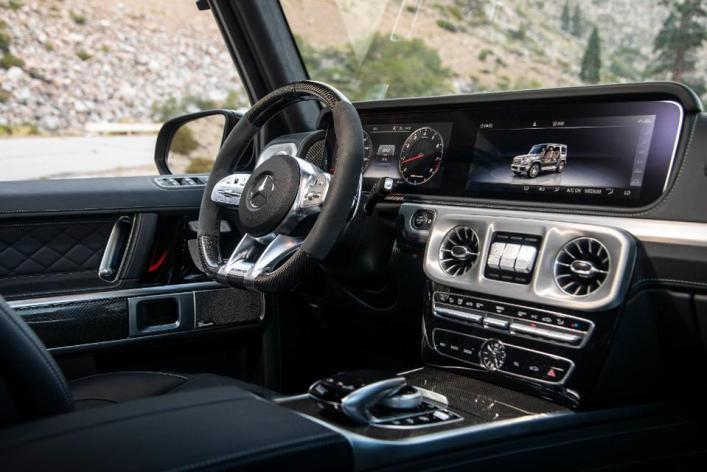 AMG G-Class interior