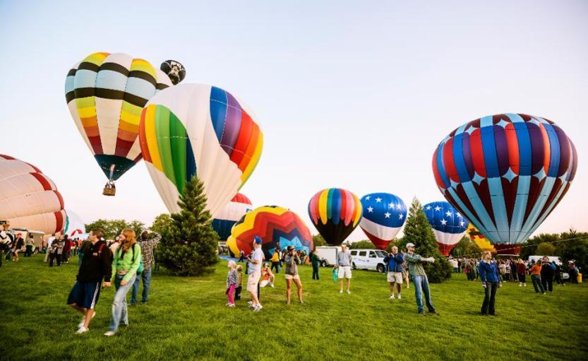 Spirit of Boise Balloon Classic, 2012