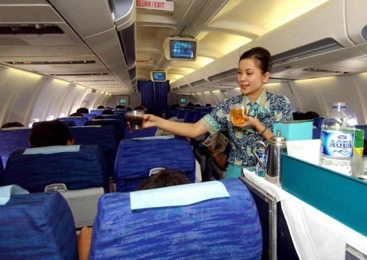 Garuda indonesia banned pictures on their flights earlier this year