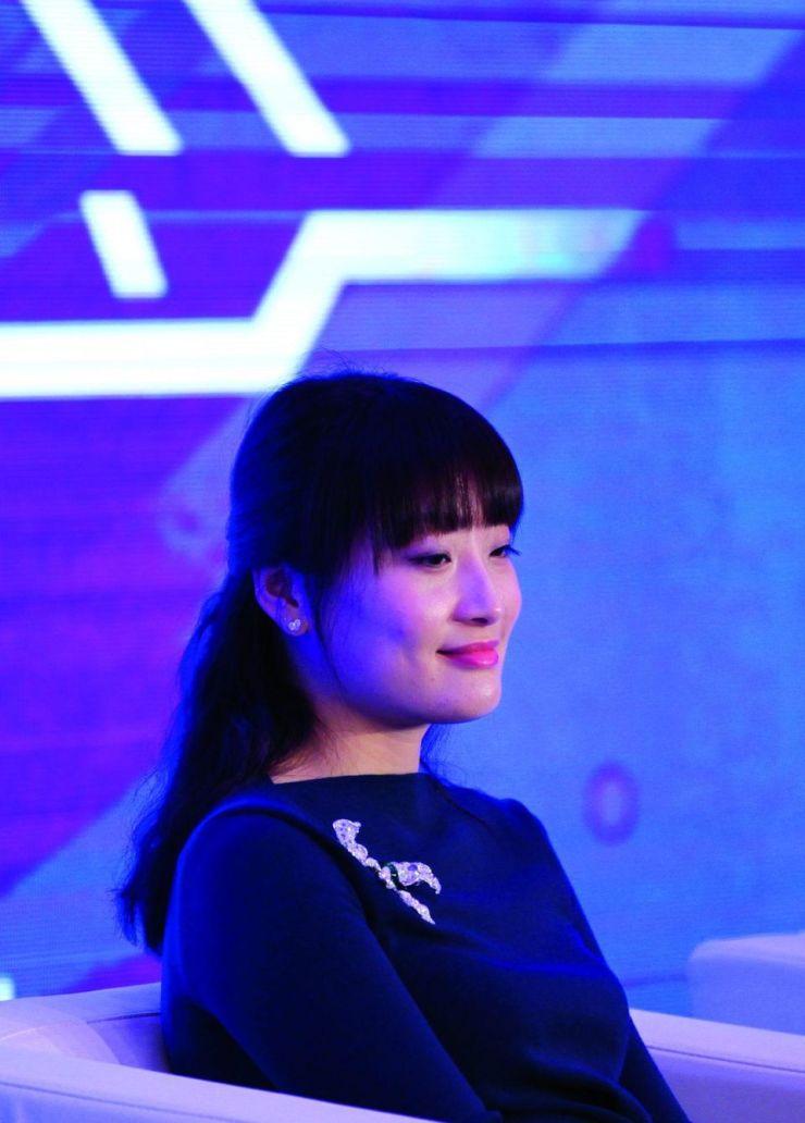 Kelly Zong Fuli, daughter of Wahaha Groups Chairman Zong Qinghou.