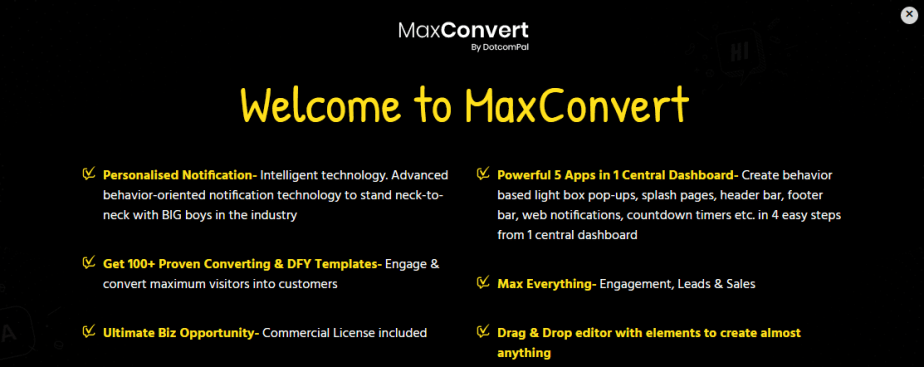 Image result for maxconvert commercial