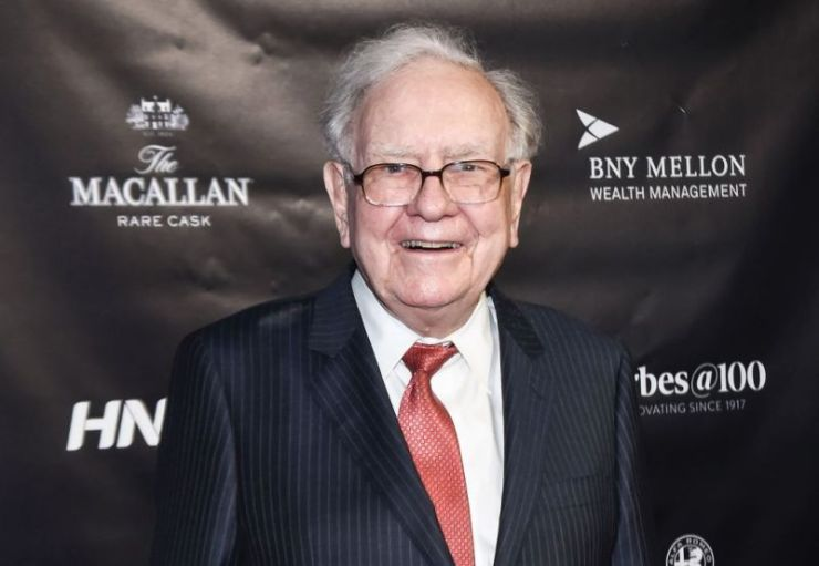 Warren Buffett attends the Forbes Media Centennial Celebration at Pier 60 on September 19, 2017 in New York City.