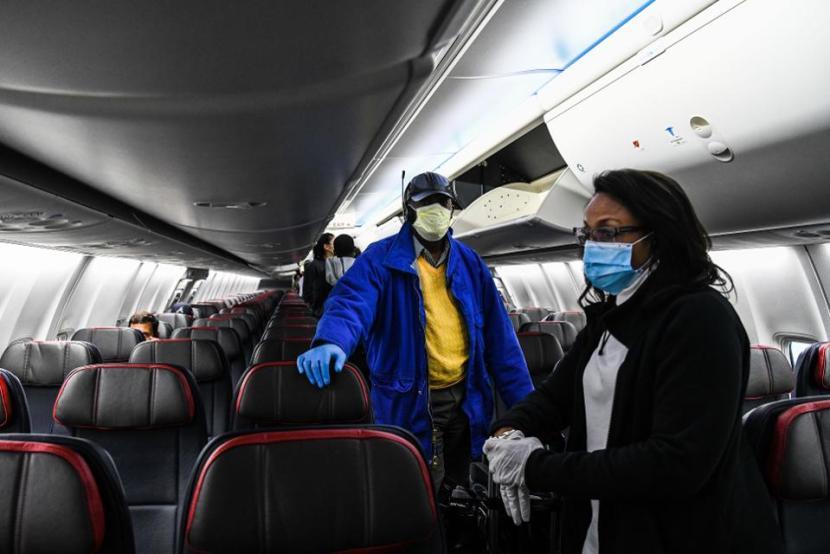 coronavirus airplane travel