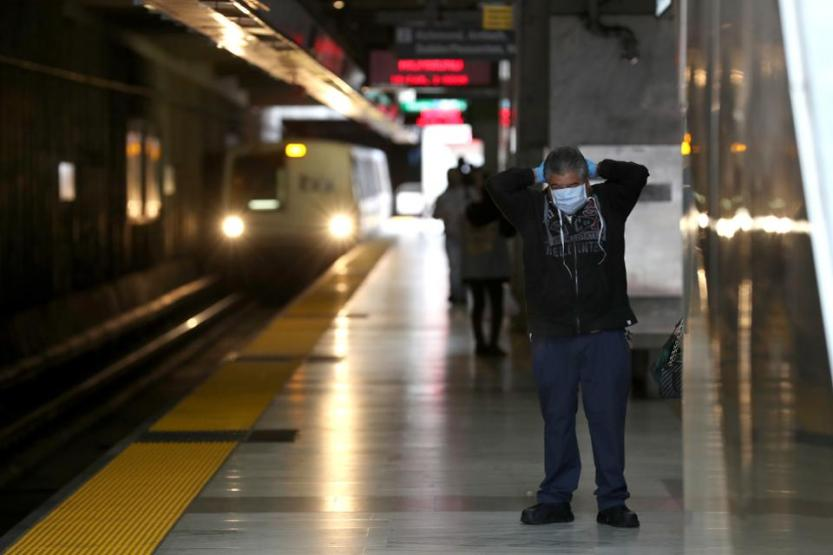 BART Cuts Train Service In Bay Area During Coronavirus Shutdown
