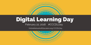 Digital Learning Day Twitter Graphic