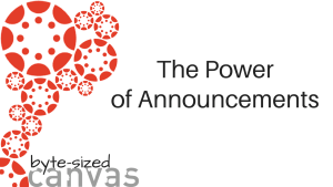 The Power of Announcements