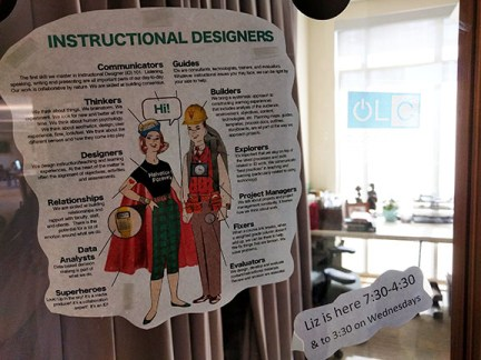 Instructional Designer infographic pointing out the diverse roles of an ID