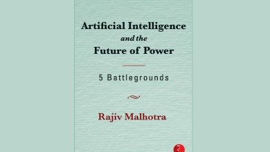 Excerpts from Artificial Intelligence and the Future of Power by Rajiv Malhotra