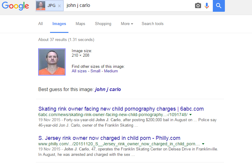 Google Reverse Image Search to find Source