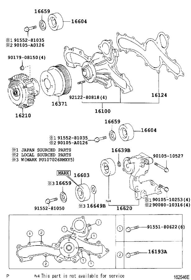 2000 Toyota Tundra Towing Options, Fan Fluid Coupling