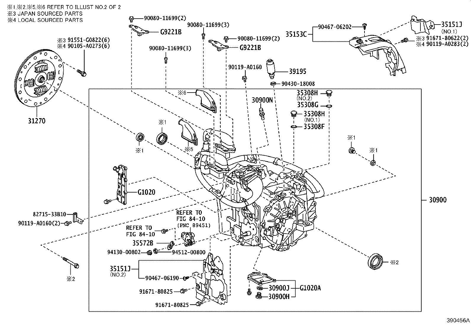 Toyota Camry Transaxle Assembly Hybrid Vehicle