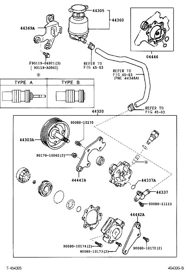 Toyota Camry Valve assembly, flow control. Mark, brakes